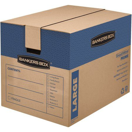 Smoothmove Prime Moving Boxes 6 Carton Kraft Other In 2020