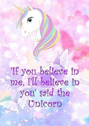 If You Believe In Me I Ll Believe In You Cute Unicorn G Https