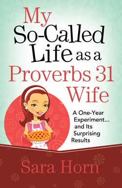 sounds like she has practical insight into what it means to be a Proverbs 31 wife.