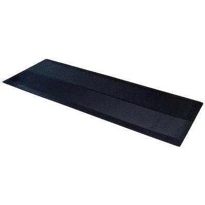 Climatex Black Rectangular Outdoor Utility Mat Common 3 Ft X 10 Ft Actual 27 In X 120 In At Lowe S From Slick Rain Boots T In 2020 Muddy Paws Rectangular Outdoor