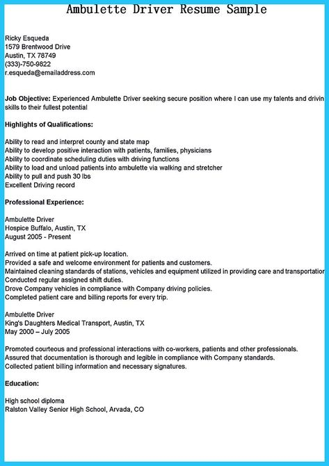 cool Stunning Bus Driver Resume to Gain the Serious Bus Driver Job - school bus driver resume