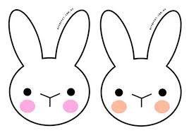 Antifaces De Conejos Arte De Pascua Antifaces Para Ninos