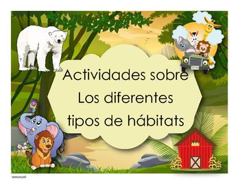 The Perfect Animal Habitat Activities for Preschool | Animal ...