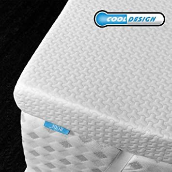 Ruuf Memory Foam Mattress Topper Queen 2 Inch High Density Active Cooling Bed Topper Removable Amp Washabl In 2020 Memory Foam Topper Mattress Topper Memory Foam