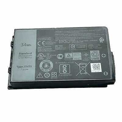 Ebay Link Ad Battery J7htx For Dell Latitude 12 7202 E7202 Laptop 7xntr Fh8rw 7 6v 34wh Rugged Tablet Dell Latitude Desktop Accessories