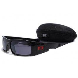 48a008d22 Óculos de sol Oakley Gascan Preto Quadro Slateblue lente   Óculos de ...