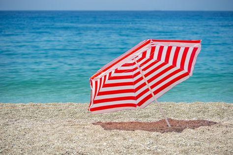 Sun Of A Beach Towels Chaise Longue Pattern Umbrella Stripes Beach Towels Outdoor Blanket Beach