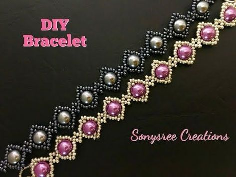 How to DIY Beaded Bracelet with beads-Beginners Project… - DIY Jewelry