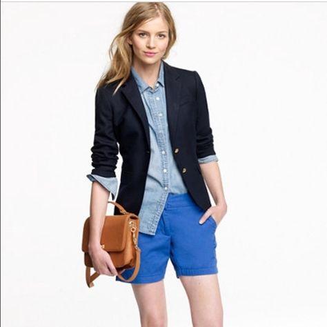 "LOFT 5"" Inseam Cobalt Blue Shorts! LOFT 5"" Inseam Cobalt Blue Shorts! Size: 4!! Only worn ONCE!! In perfect condition!!! LOFT Shorts"