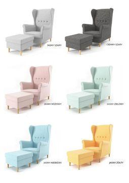 Fotel Uszak Milo Styl Skandynawski Podnozek 7816012631 Allegro Pl Outdoor Furniture Sets Outdoor Furniture Home Decor