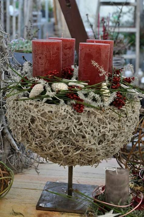 weihnachts dekoration  kompozycje kwiatowe ozdoby