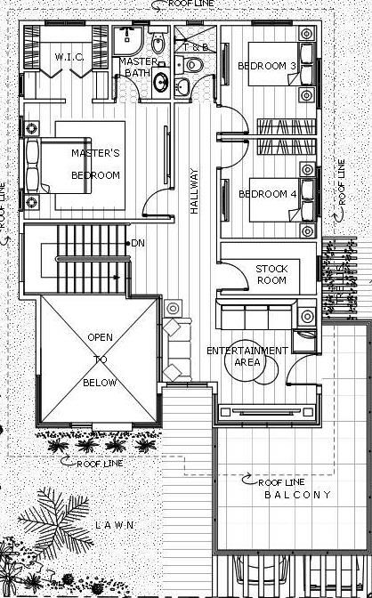 Contemporary 19 House Designer And Builder 2 Storey House Design Modern House Floor Plans House Architecture Design