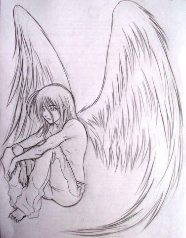Sketch Angel Angel Sketch New Angeles Dibujos Dibujos Tristes Dibujos Tristes A Lapiz