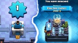 Level 1 In Electro Valley Arena 11 Clash Royale How Clash Royale Arena Valley