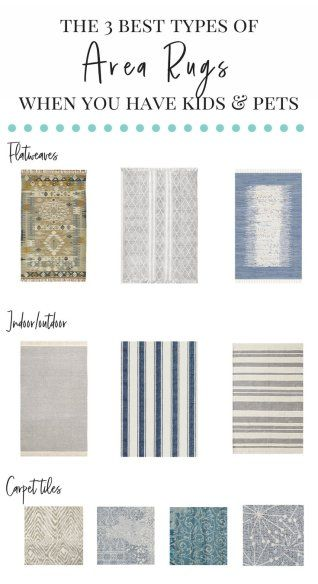 My Flor Catalog Feature 3 Types Of Family Friendly Rugs That
