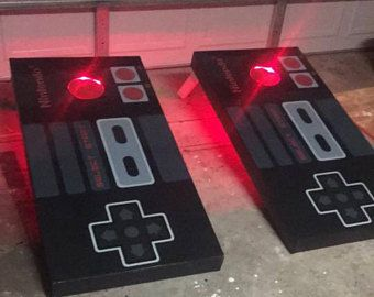 Nintendo Lighted Bean Bag Toss Boards