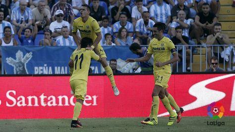 LaLiga: Lo paró Kameni! El camerunés detiene el disparo de Bruno Soriano y evita el segundo del Villarreal. #MálagaVillarreal #LigaEspañola