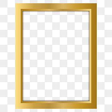 إطار ذهبي أنيق الحدود المرسومة صورة فوتوغرافية أنيق Png والمتجهات للتحميل مجانا Gold Photo Frames Frame Clipart Pink Flowers Background