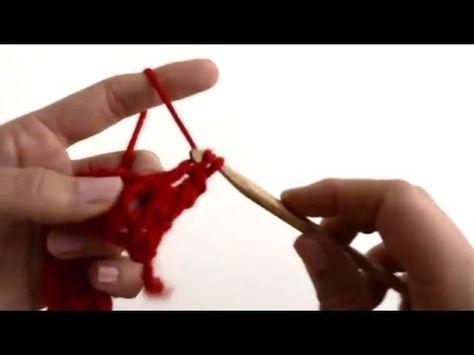 comment faire une bride simple en relief au crochet | simple