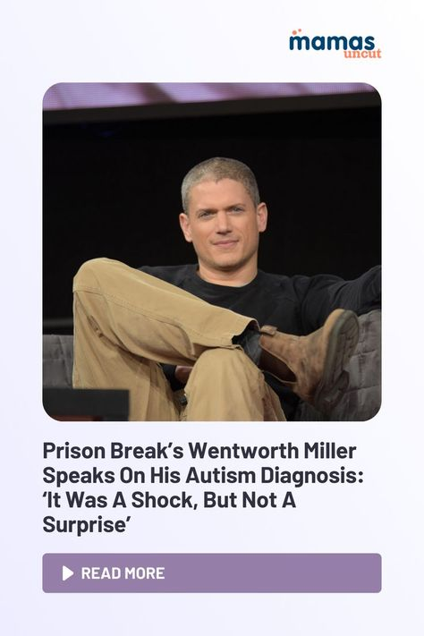 Wentworth Miller has revealed he is a member of the autism community.