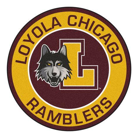 FanMats 24503 Loyola University Chicago Roundel Mat 27