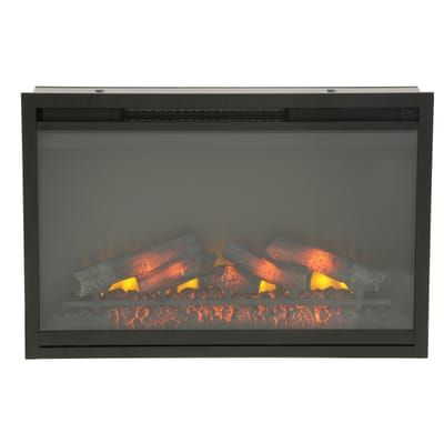 Classic Flame 36 In Traditional Built In Electric Fireplace