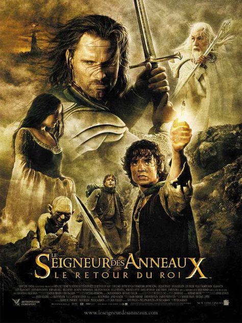 Le Seigneur Des Anneau 2 : seigneur, anneau, Épinglé, Affiches, Films, Seigneur, Anneaux, Retour