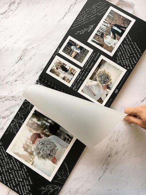 Photo Album Create personalized photo albums Scrapbooking | Etsy