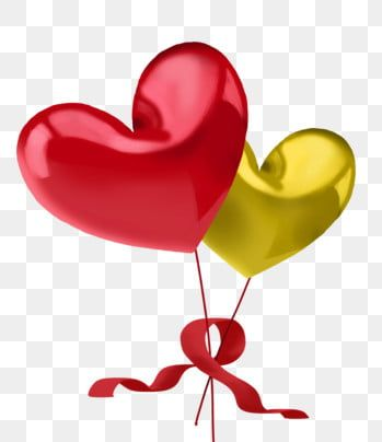 Two Balloons Red Balloons Heart Balloons Yellow Balloons Floating Balloons Red Ribbon Decoration Two Png Und Psd Datei Zum Kostenlosen Download Ballon Rouge Decoration Ballon Clipart