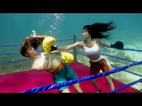 Angie Vu Ha - Underwater Boxing Sizzle. - YouTube