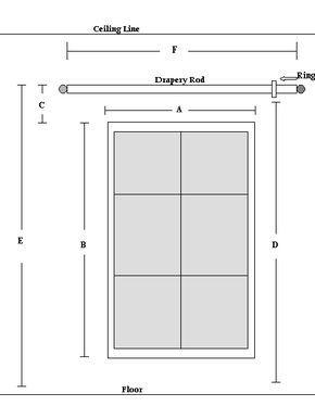 Measure Drapes Homemade Curtains Interior Design Guide Custom