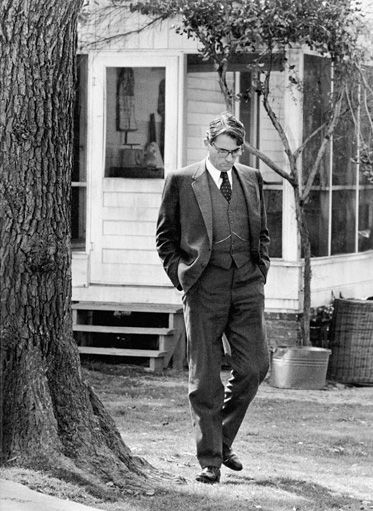 Atticus Finch, my hero. This is a great site -  Lessons in Manliness.