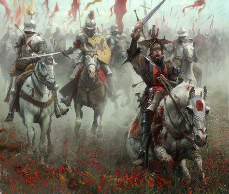 The Blackfyres were a dynasty that tried to usurp the Targaryen kingdom. Daemon was the warrior scion. Artist: José Daniel Cabrera Peña