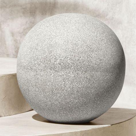 Playa Large Garden Sphere Reviews Garden Spheres Leather