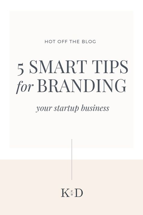 Being the owner of a small startup company can quickly become overwhelming. While there's a lot to learn and take care of, from fiscal management and administration to operations and planning, the marketing and design aspect of your business can be an equally difficult to traverse. These 5 tips will offer a good place to start by building your business on the foundation of asolid brand.