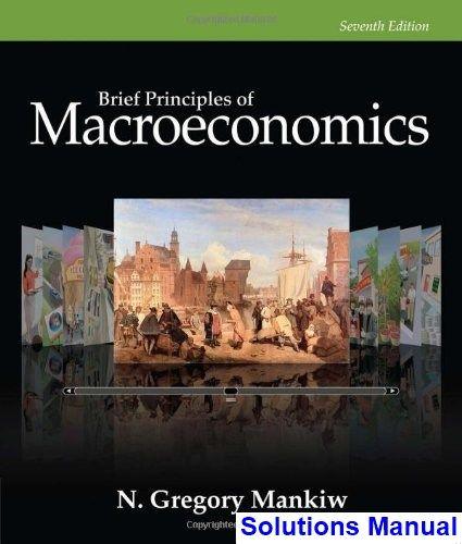 Brief Principles Of Macroeconomics 7th Edition Gregory Mankiw Solutions Manual Digital Deal Promotion 2021 Economics Books Macroeconomics Economics