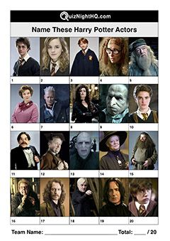 Name These Harry Potter Actors Harry Potter Quiz Harry Potter Actors Harry Potter