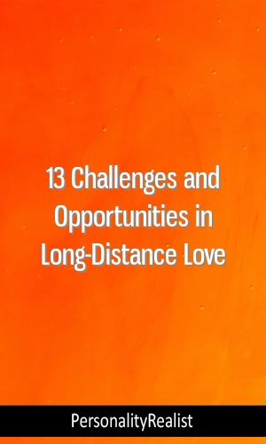 13 Challenges and Opportunities in Long-Distance Love
