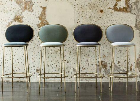 "Shevi Stone on Instagram: ""Day 206 - simple, elegant barstools #interiordesign #furnituredesign #barstools #interiors #design #homedecor #homestyling"""