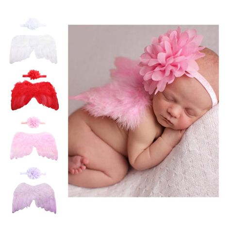 Butterfly Newborn Baby Girls Boys Wing Costume Photo Photography Prop Outfits