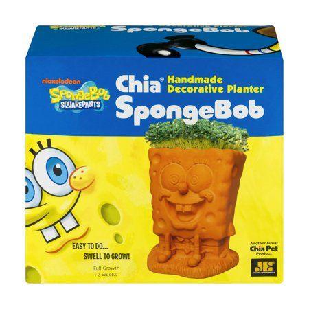 Shop By Brand Chia Pet Decorative Planters Spongebob