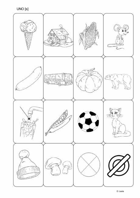 Z Uno Artikulation In 2020 Memory Selber Machen Logopadie Karten