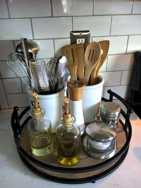 34 Affordable Kitchen Storage Ideas