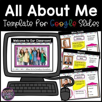 This Digital All About Me Poster And Or Google Slides Presentation Is A Great Way To Learn A Bit More Abou All About Me Poster About Me Poster Google Classroom