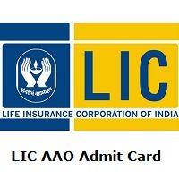 Lic Aao Admit Card 2019 Life Insurance Corporation Life