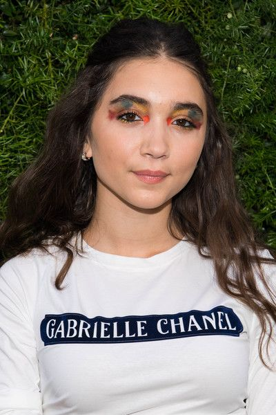 Actress Rowan Blanchard attends the Chanel dinner celebrating Lucia Pica and the Travel Diary Makeup Collection.