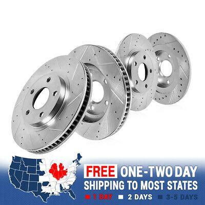 Sponsored Ebay Front Rear Drill Slot Brake Rotors For 2013 2014 2015 2018 Hyundai Sante Fe In 2020 Chevy Colorado Brake Rotors Lexus Lx450