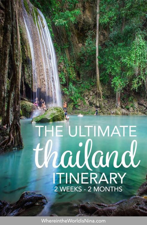 Here is your perfect 2-week Thailand itinerary! Staying longer? No prob, this itinerary has all the things to do in Thailand that could last you beyond 2 months in the Kingdom. So where to? :) Pin this to your Thailand planning board for later!