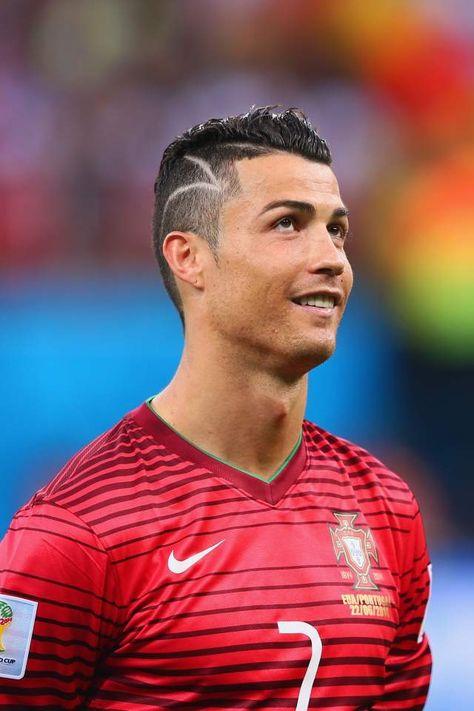 Cristiano Ronaldo Frisur in der Weltmeisterschaft 2018