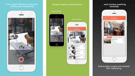 Überwachungskamera App   Smartphones als einfache Sicherheitslösung  Ältere Smartphones eigenen sich mit der passenden Überwachungskamera App sehr gut zur Überwachung, können aber auch als Babyphone eingesetzt werden.  #sicherheit #app #smarthome #tech #technews #smarttech #connected #alarmanlage #automation #gadgets